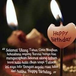 Kumpulan Gambar Wallpaper Kata-Kata Ucapan Selamat Ulang Tahun Happy Birthday
