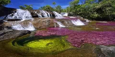 Artikel Berita Air Sungai Yang Memiliki Lima Warna
