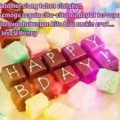 Gambar Ucapan Met Ultah Happy Birthday