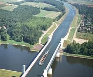 Ada Sungai di Atas Sungai, Jembatan Air Unik Magdeburg