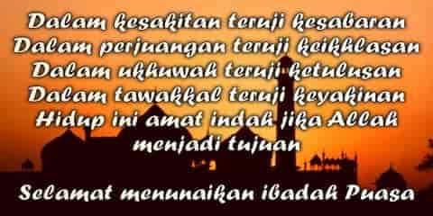 Kata-Kata Mutiara Ucapan Selamat Puasa Ramadhan