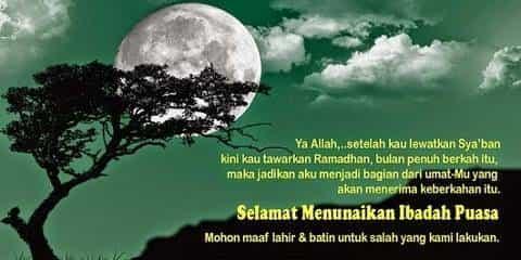 Kata-kata Puasa di Bulan Ramadhan