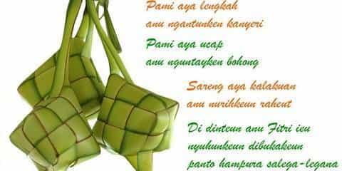 Ucapan Lebaran Idul Fitri Bahasa Jawa