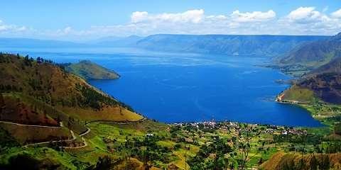 Lokasi Danau Toba