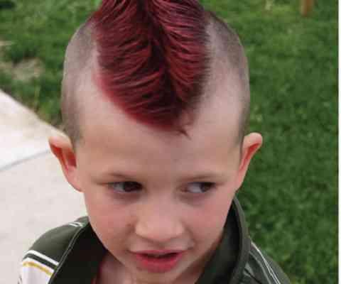 gaya model potongan rambut anak laki style pendek ikal jambul rapi keren terbaru