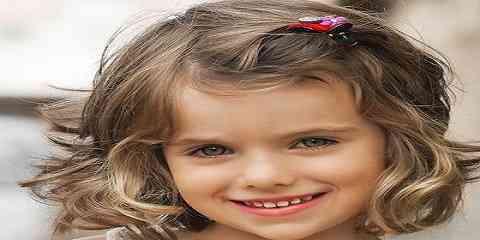 Model Rambut Anak Perempuan Terbaru Pendek Keriting